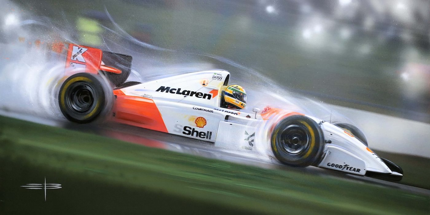 Senna-Rainman Painting